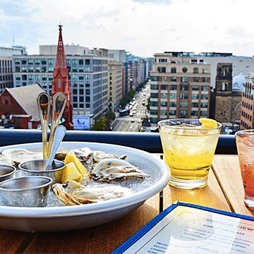 Oysters + Cocktails @Crimson View